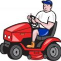 A man could be charged with Theft for driving a lawn mower out of a store.