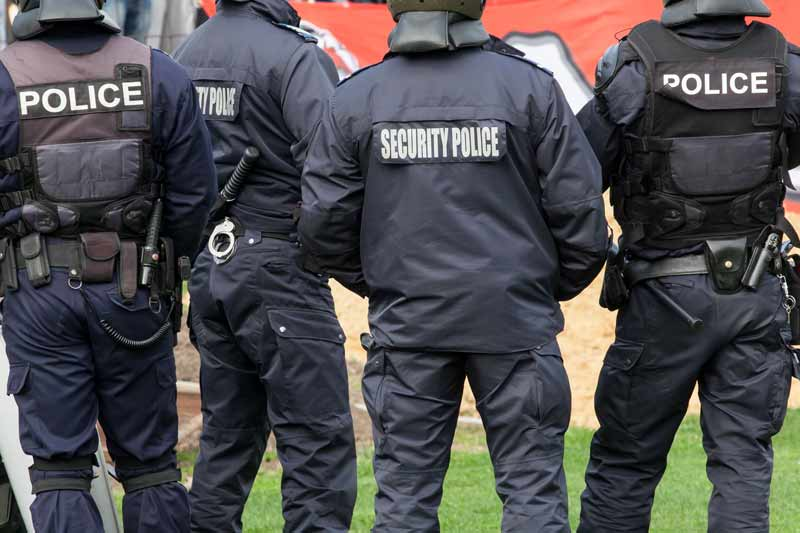 Offenses like Aiding Escape, Impersonating a Police Officer, Obstructing a Peace Officer, and Resisting Arrest are all violations under the Offenses by or against Public Officers and Government.